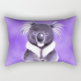 Cool Buddha Koala Rectangular Pillow