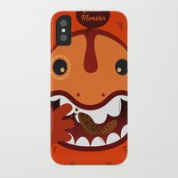 cookie monster iPhone & iPod Cases featuring Cookie Monster by Ilias Sounas