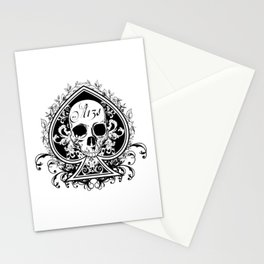 Halloween Ace of Spades Stationery Cards