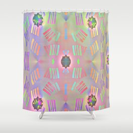 Fantasy with lightning colours Shower Curtain