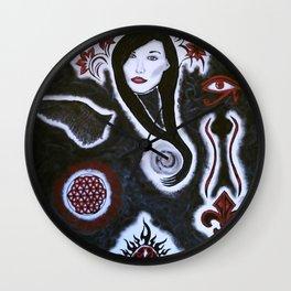 Divine Feminine Wall Clock