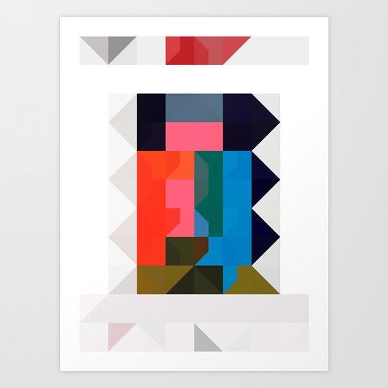 color story - niche Art Print