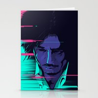 movie poster Stationery Cards featuring Oldboy - Alternative movie poster by FourteenLab