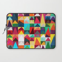 Abstract Geometric Mountains Laptop Sleeve