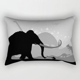Prehistoric time Rectangular Pillow