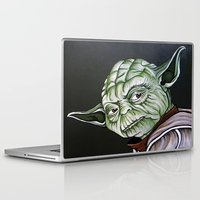 yoda Laptop & iPad Skins featuring Yoda by Laura-A