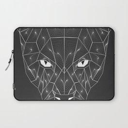 Panther Puma Black Zentangle Laptop Sleeve