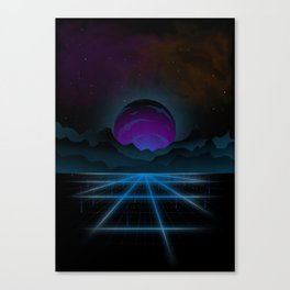 Outrun-2 Canvas Print