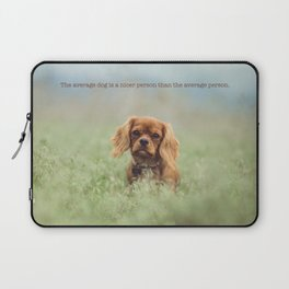 Cute puppy poster Laptop Sleeve