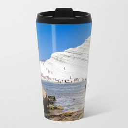 Scala dei Turchi Travel Mug