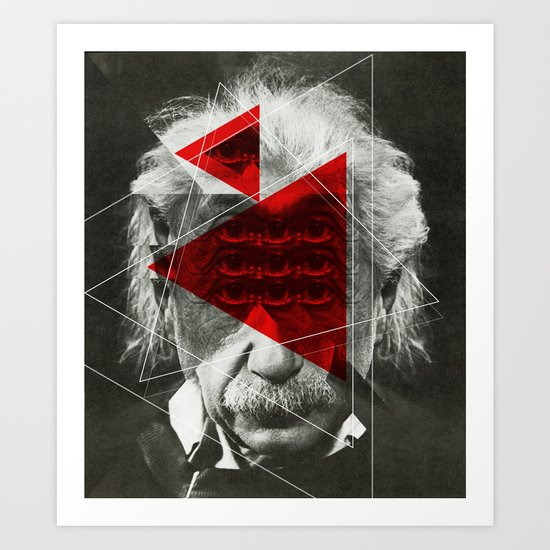 Albert E Mix 1c Art Print