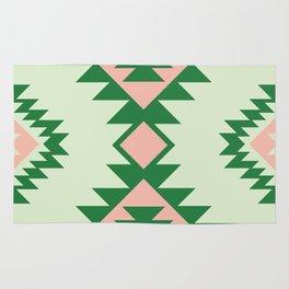 Navajo motif with watermelon pallet Rug