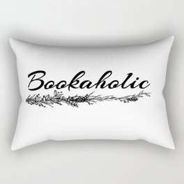 Bookaholic Rectangular Pillow