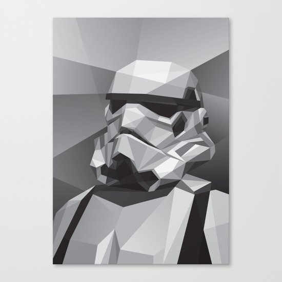 Stormtrooper Canvas Print