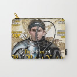 Rafael Nadal in Shinning Armor Carry-All Pouch