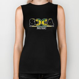 Soca Music design : Party Gift for Carnival Rum and Wining, Caribbean Reggae Dancehall Culture, Biker Tank