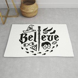 I Believe in Magic Rug