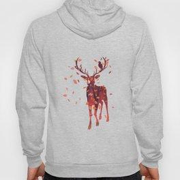 Autumn deer silhouette Hoody