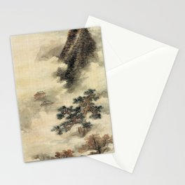 Lan Ying Clearing Autumn Mists in the Chu Mountains Stationery Cards