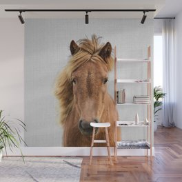 Wild Horse - Colorful Wall Mural