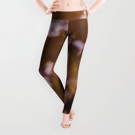 Pale Purple Hyacinths  Leggings