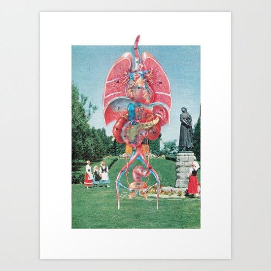 Church Organs Art Print