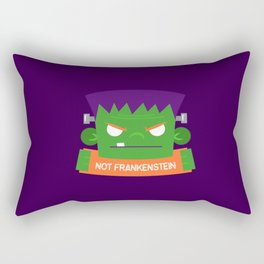 Frankenstein's Monster is NOT Frakenstein Halloween Rectangular Pillow