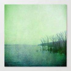 Inner Journey - Blue Canvas Print