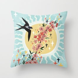 New energy coming in Throw Pillow