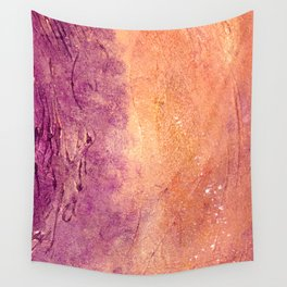 Golden Soul Wall Tapestry