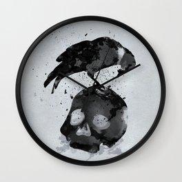 Odin's Raven: Hugin Wall Clock