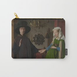 Van Eyck - Arnolfini Portrait Carry-All Pouch
