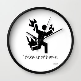 Science Research Chemistry funny fun gift Wall Clock