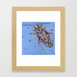 Hurry Up, Look Busy! Framed Art Print