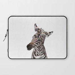 Baby Zebra Laptop Sleeve