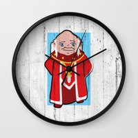 dungeons and dragons Wall Clocks featuring DUNGEONS & DRAGONS - DUNGEON MASTER by Zorio