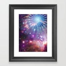 Cosmic Pinwheel Framed Art Print