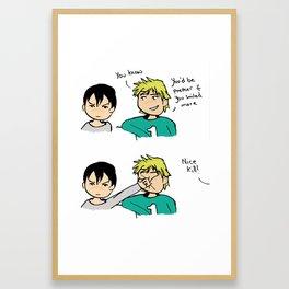 Nice Kill Framed Art Print