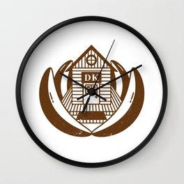 Treehouse (Donkey Kong Country) Wall Clock