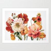 Flowers 22 Art Print