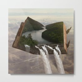 The Story of Earth Metal Print