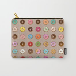 Colorful Doughnuts Carry-All Pouch