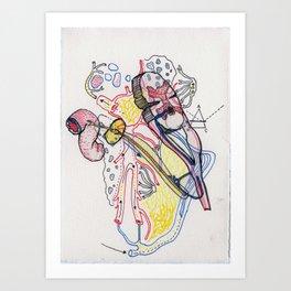 Sensory Systems 1 Art Print