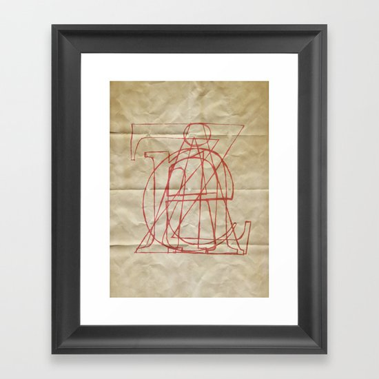Zaine Framed Art Print