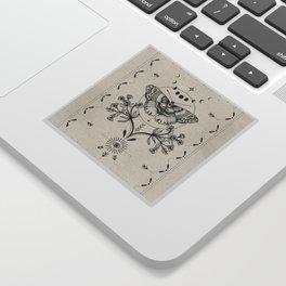 Magical Moth Sticker