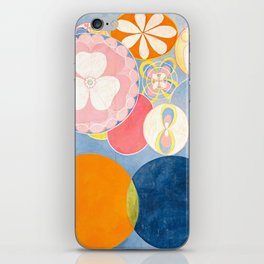 """Hilma af Klint """"The Ten Largest, No. 02, Childhood, Group IV"""" iPhone Skin"""