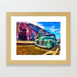 Chicano Love Framed Art Print