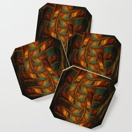 Abstract Totem Coaster
