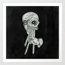 spying Art Print