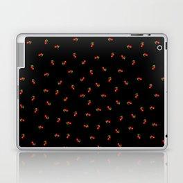 Dark Delicate Cherry Laptop & iPad Skin